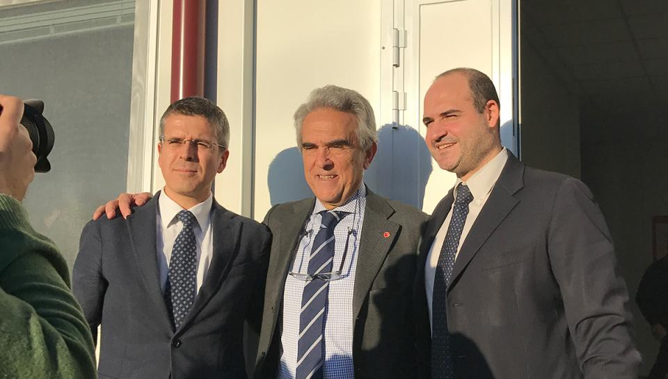 Solidarity for Amatrice: inauguration of the socio-educational centre for the youth